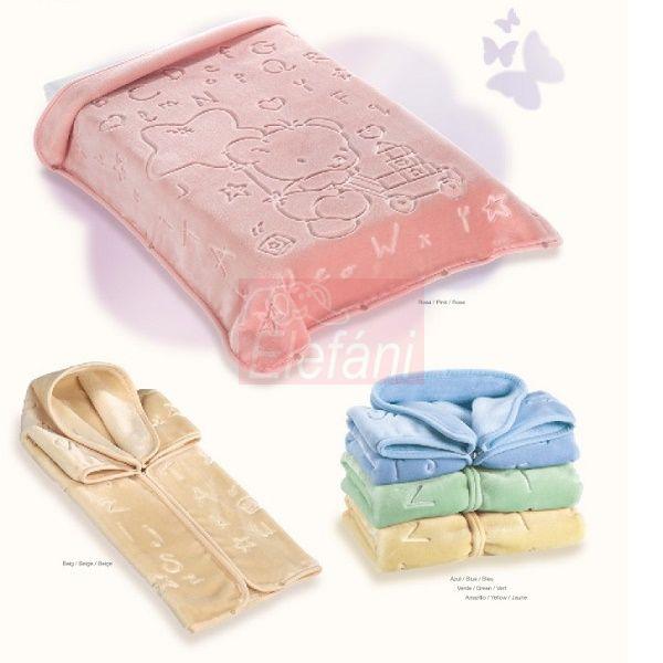 Baby Perla Puha takaró #521 Pink