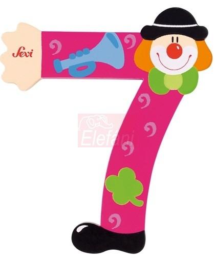Sevi Fából készült szám #7