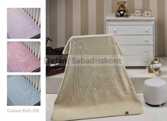 Mora Colour kids babapléd 80x110cm #550 lila