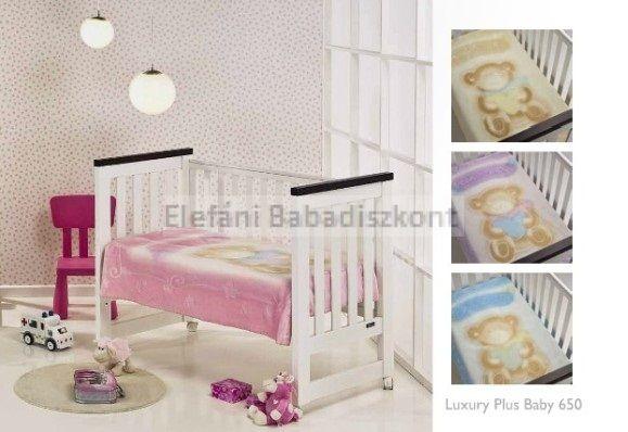 Mora Luxuri baby babapléd 80x110cm #650 rose