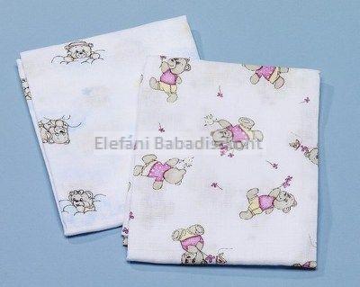 Babybruin Tetra textil kifogó mintás 90x100 cm #1db