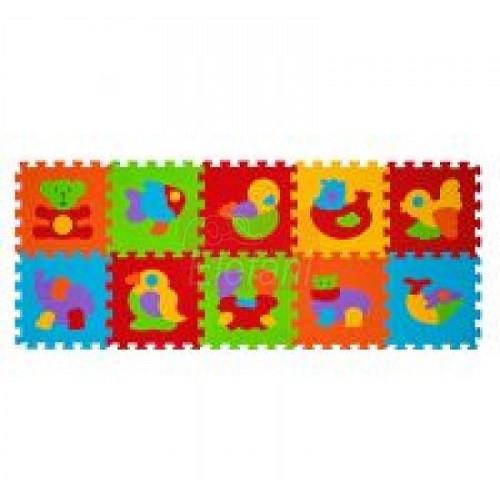 BabyOno Szivacs puzzle 10db #276