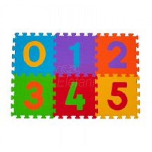 BabyOno Szivacs puzzle 6db #275