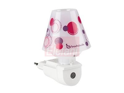 Badabulle lámpa lila #B015005