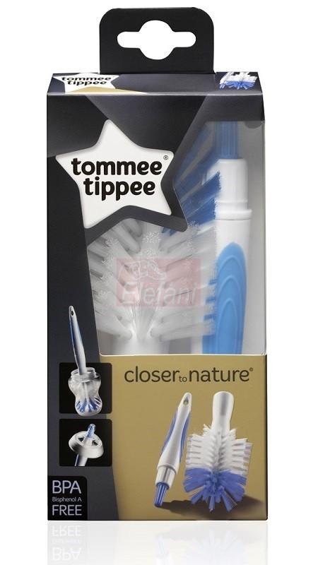 Tommee Tippee Cumi-és cumisüvegmosó kefe