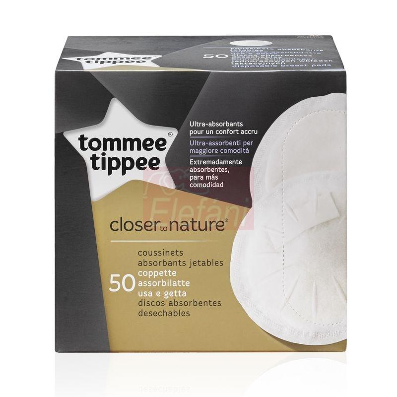 Tommee Tippee Eldobható melltartóbetét #50db