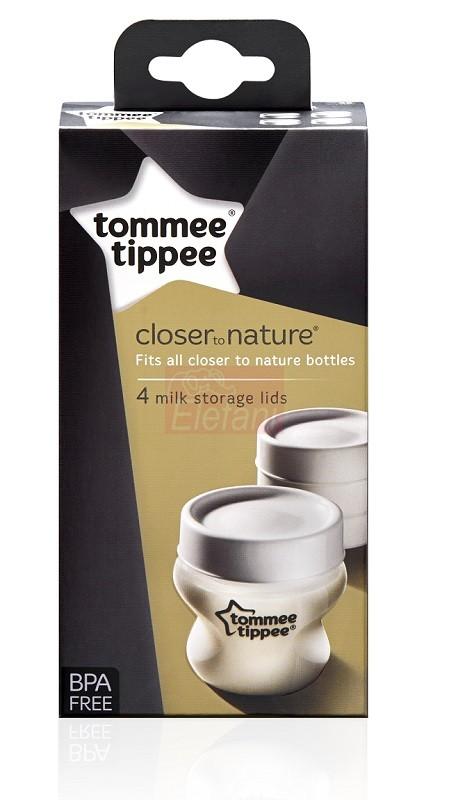 Tommee Tippee Anyatejtároló fedél #4db