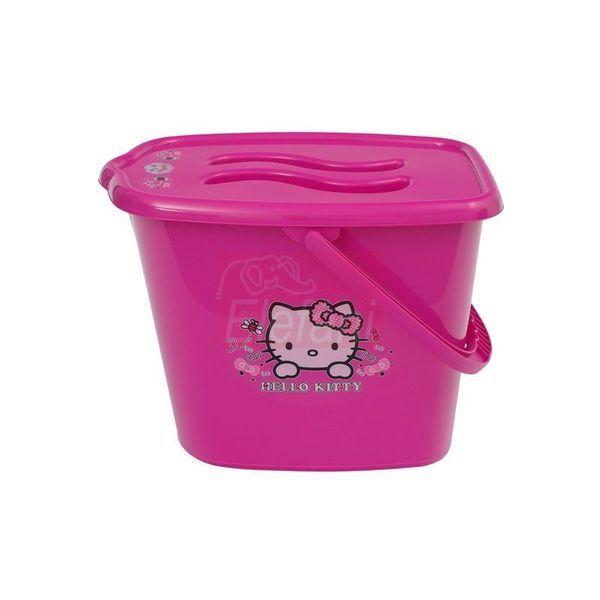 Maltex Hello Kitty Pelenka tartó vödör #Pink