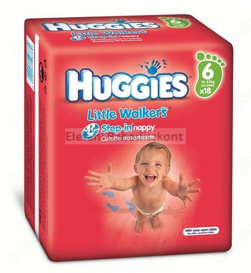 Huggies Little Walkers nadrágpelenka #16-23kg