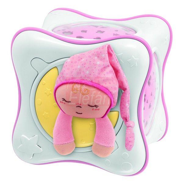 Chicco Szivárvány Kocka projektor #rózsaszín