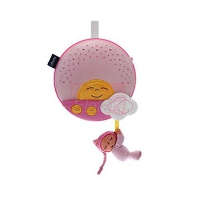 Chicco Naplemente - Napfelkelte projektor #rózsaszín