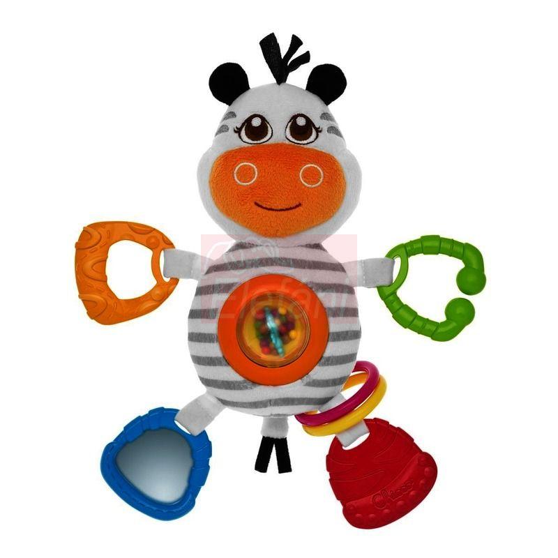 Chicco Zebra rágókás textiljáték