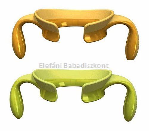 Chicco Step Up cumisüveg fogantyú 2db #sárga-zöld