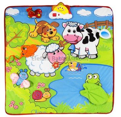 Chicco Játszószőnyeg éneklő állatokkal #71508