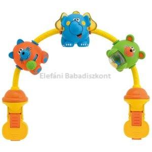Chicco Játékív babakocsira #Táncoló állatok