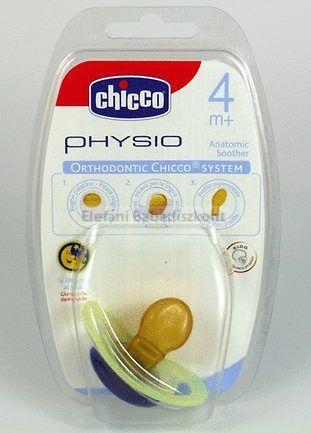 Chicco Physio Játszócumi 4m+ latex világítós #1db