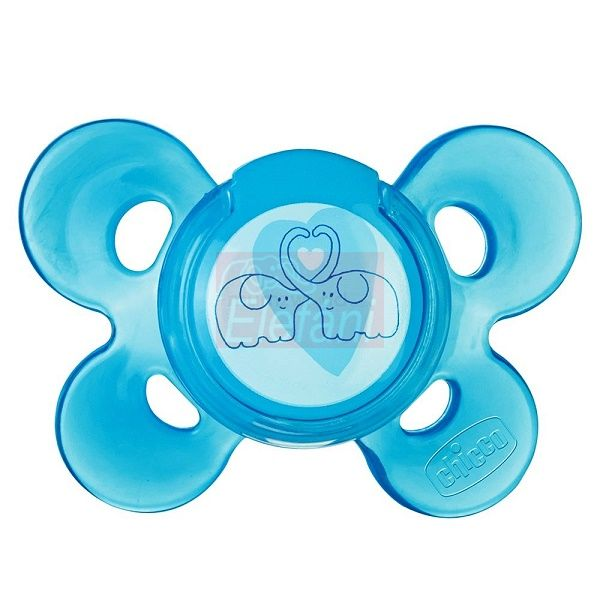Chicco Physio Comfort Játszócumi 4hó+ #kék
