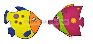 Falidekor habszivacs #tengeri halak