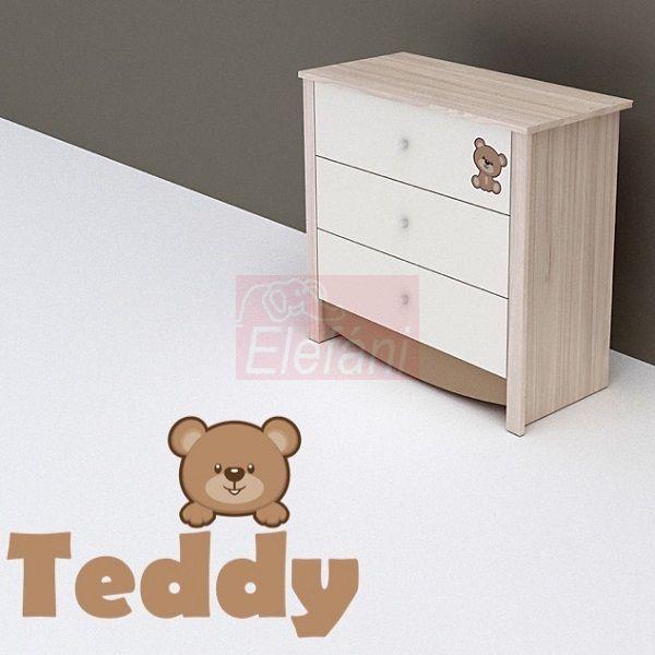 TODI Teddy 3 fiókos komód