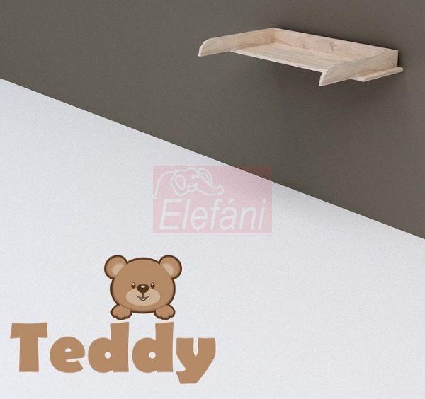 TODI Teddy Pelenkázó toldalék 3 fiókos komódhoz