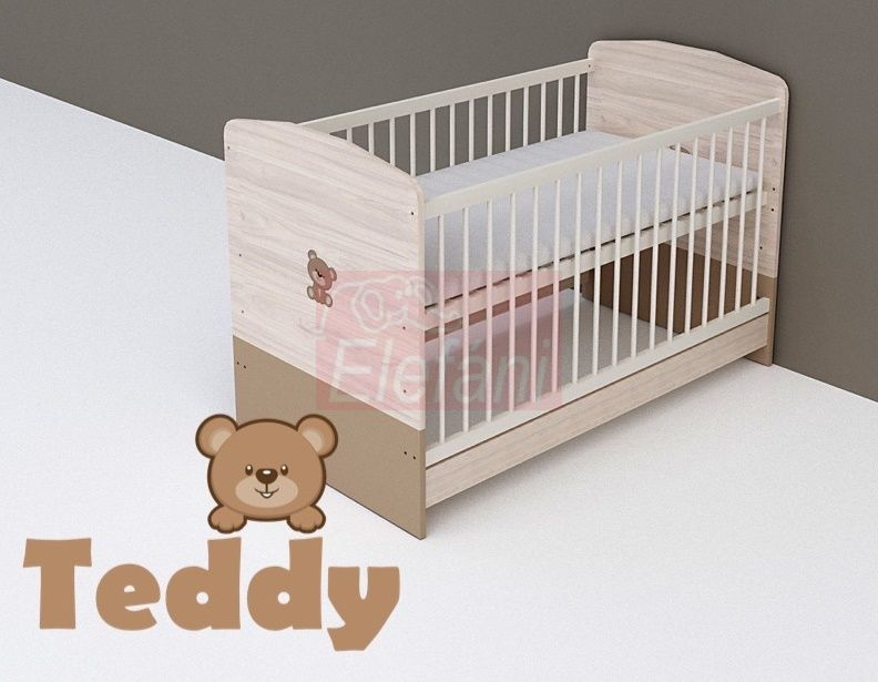 TODI Teddy Átalakítható babaágy