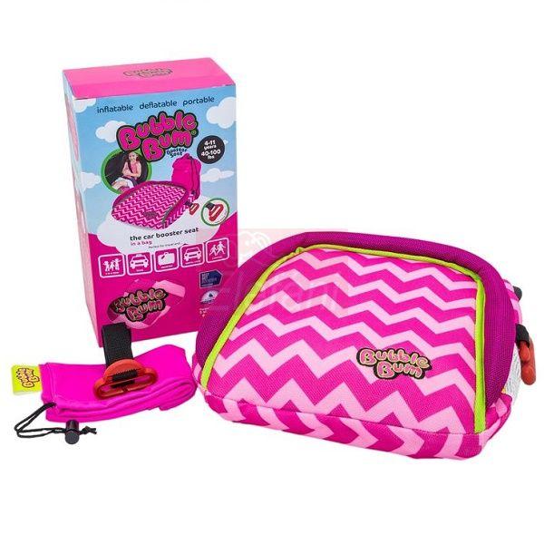 BubbleBum Felfújható ülésmagasító #pink