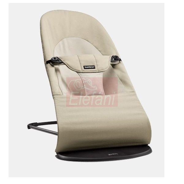 BabyBjörn Soft pihenőszék Cotton #Khaki/Beige