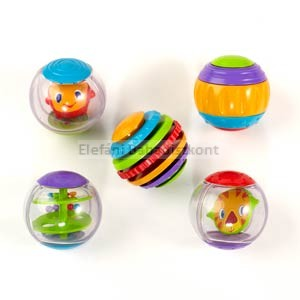 Bright Starts Shake&Spin Activity Balls játék #9079