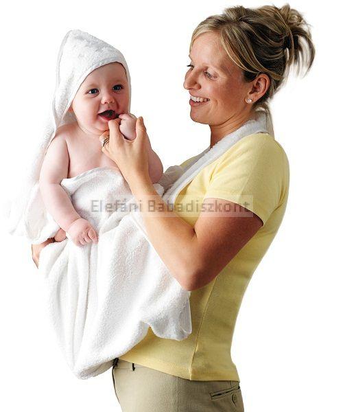 Clevamama babatörölköző #fehér