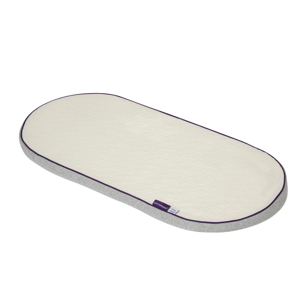 Clevamama ClevaFoam matrac mózeskosárba #74x30cm