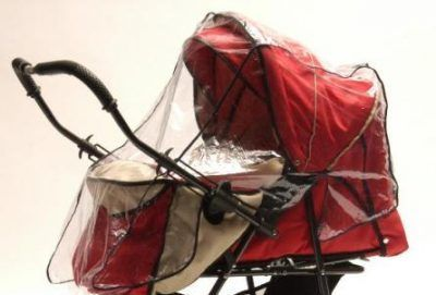 Esővédő 2 funkciós babakocsira