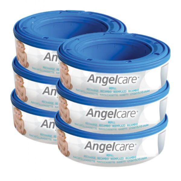 Angelcare Captiva utántöltő zsák #6db