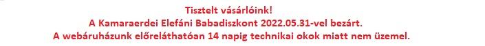 Elefáni Babaáruházak ** Budaörs, Kamaraerdei út 11. ** Bp. Bocskai út 38-40. ** Bp. Petőfi utca 14/a ** Bp. Baross utca 10.