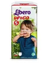 Libero up&go 5 pelenka maxi plus 10-14kg AKCIÓ #42db