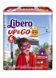 Libero UP&GO pelenka 6 AKCIÓ #20db