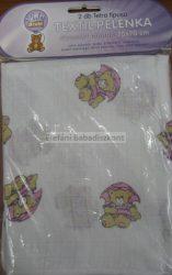Babybruin Tetra textilpelenka mintás #70 x 70 cm