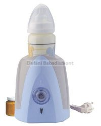 Thermobaby Cumisüveg-és bébiételmelegítő #kék-szürke