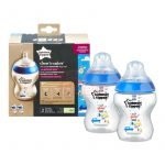 Tommee Tippee Closer To Nature Színes cumisüveg 2db #260ml