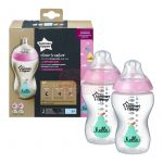 Tommee Tippee Closer To Nature Színes cumisüveg 2db #340ml