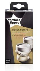 Tommee Tippee Closer To Nature Anyatejtároló fedél #4db