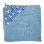 Ceba baby Fürdőlepedő 100x100 #Cápák Kék