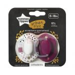 Tommee Tippee Urban játszócumi 6-18 hó #Lányos