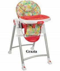 Graco Contempo etetőszék #Grazia (Kiállított, csomagolás nélkül!)