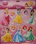 Marko falidekor 3D hercegnők #sph-113