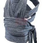 Chicco Boppy ComfyFit csatos hordozókendő #Grey