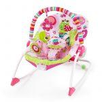 Bright Starts Rezgő pihenőszék Raspberry Garden #10125-3