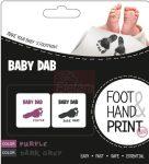 Baby Dab Lenyomat készítő #Lila/Szürke