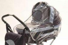 Esővédő 3 funkciós babakocsira